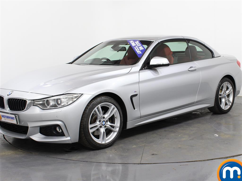 BMW 4 Series M Sport - Stock Number (990074) - Passenger side front corner