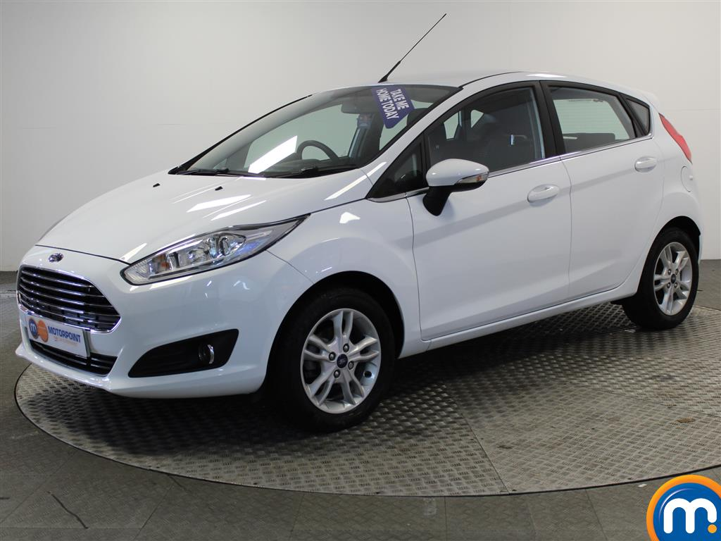 Ford Fiesta Zetec - Stock Number (986604) - Passenger side front corner