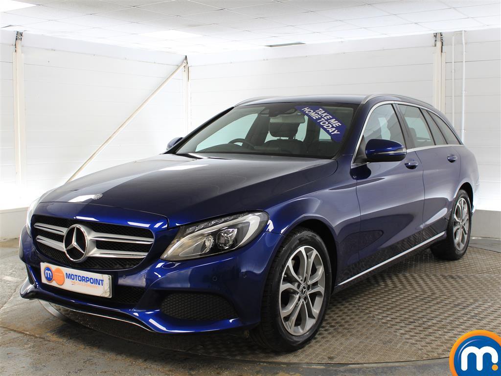 Mercedes-Benz C Class Sport - Stock Number (983595) - Passenger side front corner