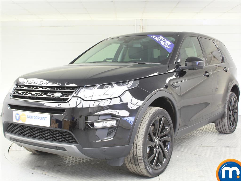 Land Rover Discovery Sport HSE Black - Stock Number (989741) - Passenger side front corner