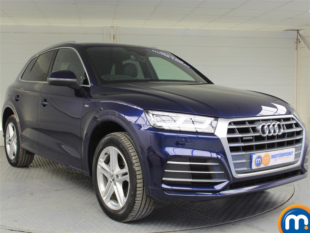 Audi Q5 S Line Automatic Diesel 4X4 - Stock Number (993018) - Drivers side front corner