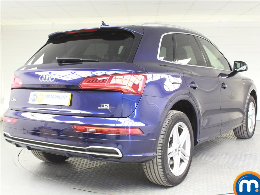 Audi Q5 S Line Automatic Diesel 4X4 - Stock Number (993018) - Drivers side rear corner