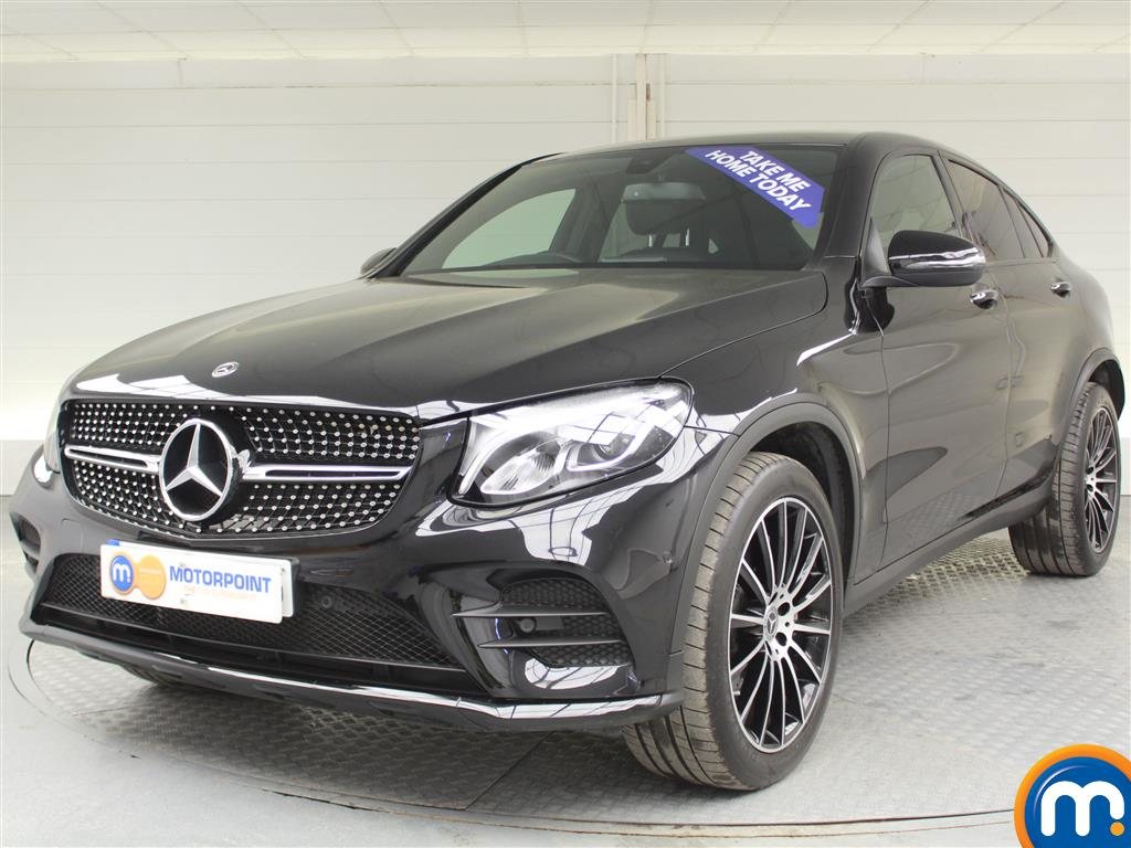 Mercedes-Benz Glc Coupe AMG Line - Stock Number (980177) - Passenger side front corner
