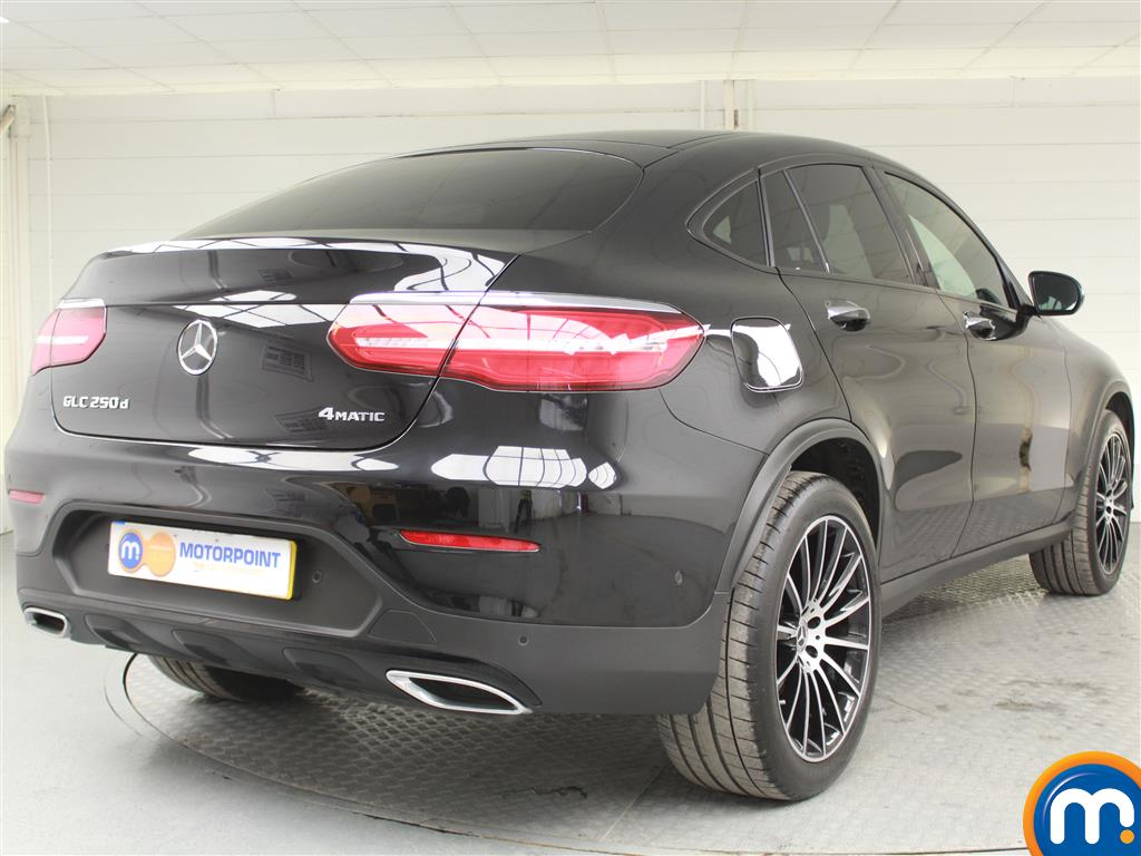 Mercedes-Benz Glc Coupe Amg Line Automatic Diesel Coupe - Stock Number (980177) - Drivers side rear corner