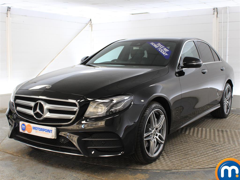 Mercedes-Benz E Class AMG Line - Stock Number (985435) - Passenger side front corner