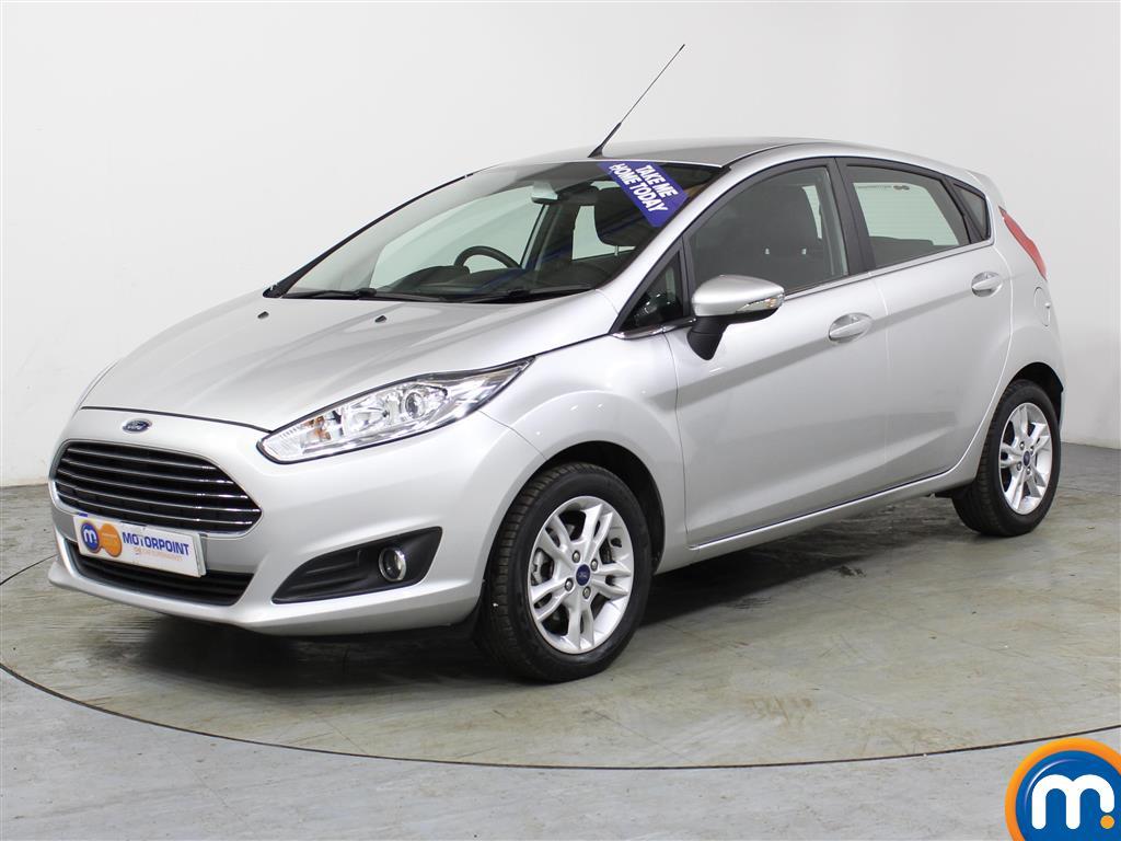 Ford Fiesta Zetec Automatic Petrol Hatchback - Stock Number (988703) - Passenger side front corner