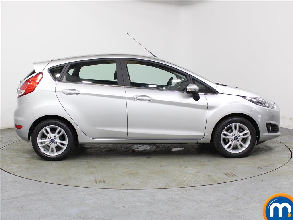 Ford Fiesta Zetec Automatic Petrol Hatchback - Stock Number (988703) - Drivers side
