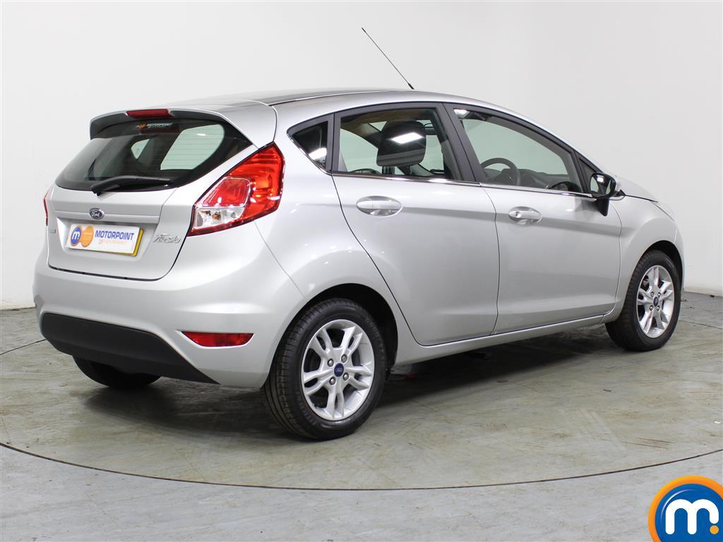Ford Fiesta Zetec Automatic Petrol Hatchback - Stock Number (988703) - Drivers side rear corner