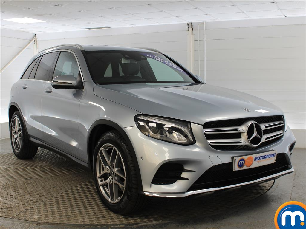 Mercedes-Benz GLC Amg Line Automatic Diesel Estate - Stock Number (991410) - Drivers side front corner