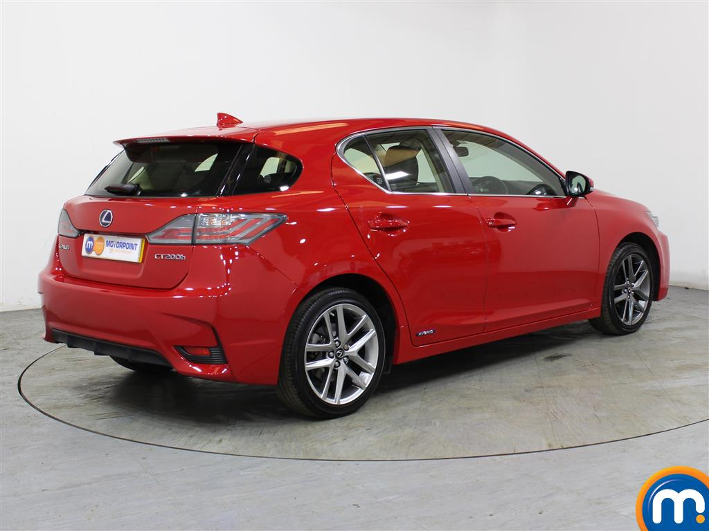 Lexus CT Executive Edition Automatic Petrol-Electric Hybrid Hatchback - Stock Number (985853) - Drivers side rear corner