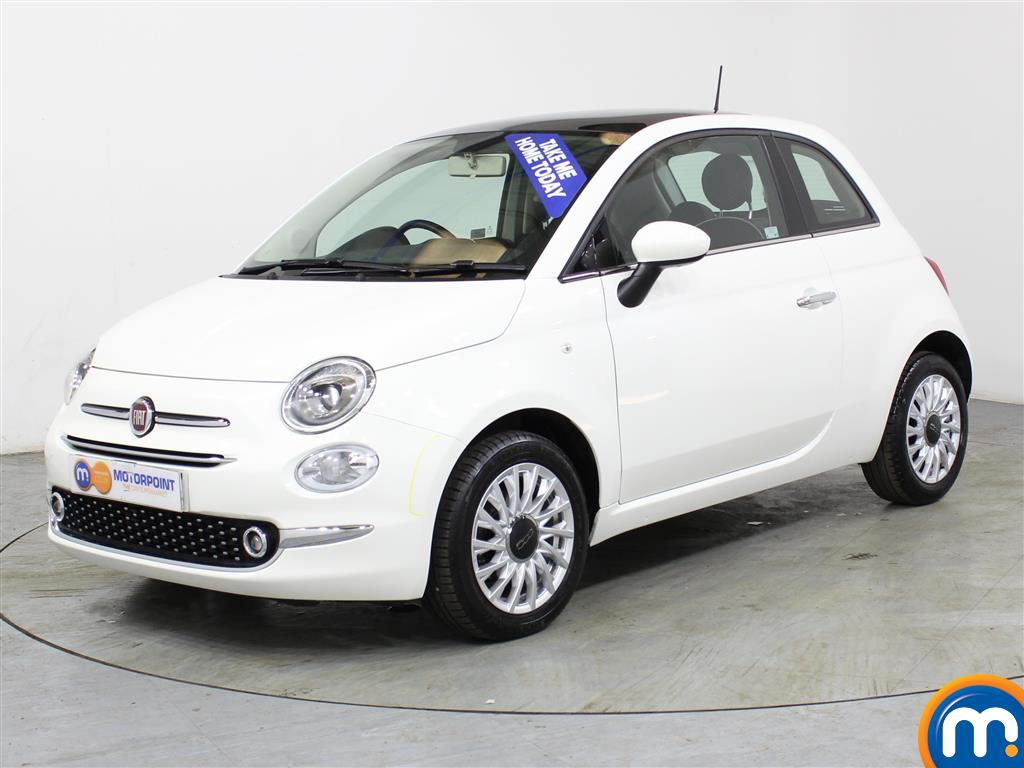 Fiat 500 Lounge - Stock Number (985795) - Passenger side front corner
