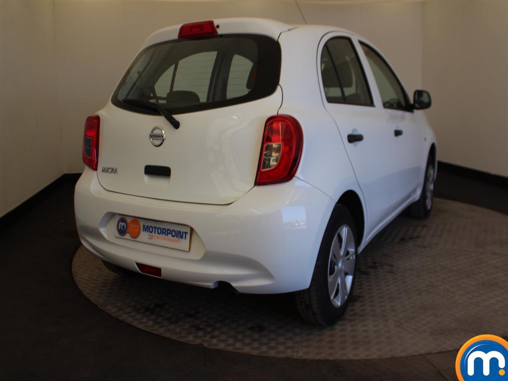 Nissan Micra Visia Manual Petrol Hatchback - Stock Number (991882) - Drivers side rear corner
