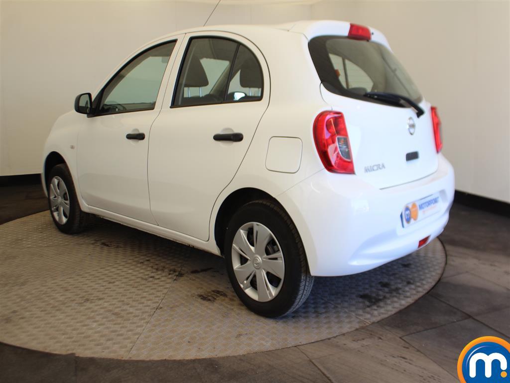 Nissan Micra Visia Manual Petrol Hatchback - Stock Number (991882) - Passenger side rear corner