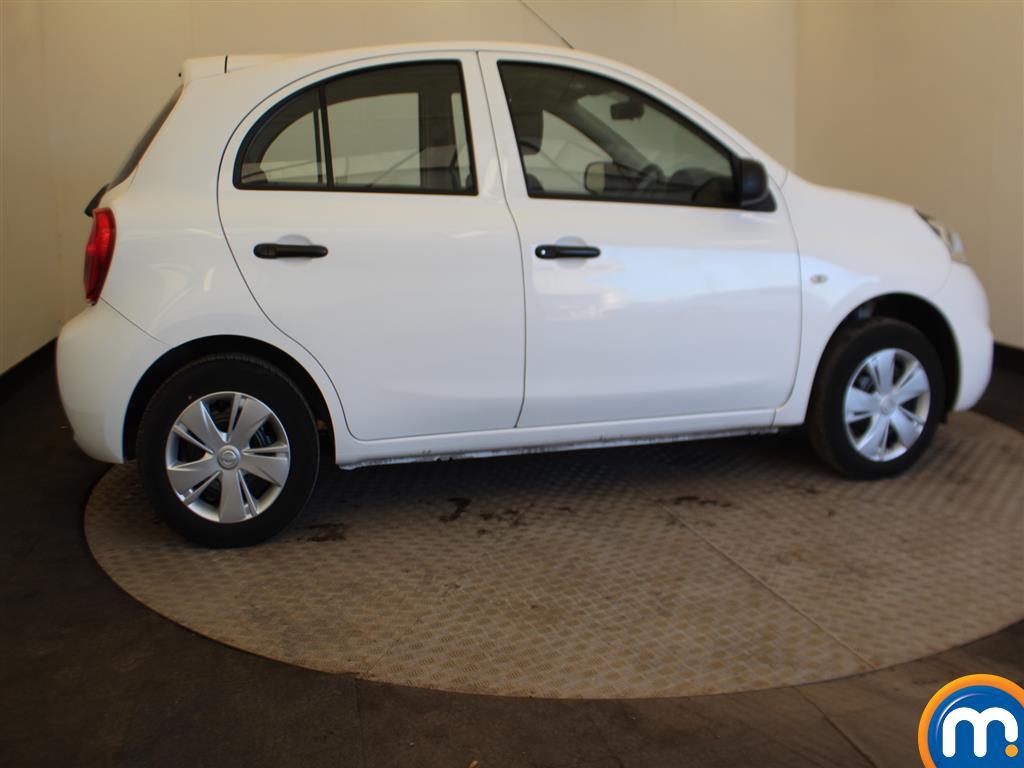 Nissan Micra Visia Manual Petrol Hatchback - Stock Number (991882) - Passenger side