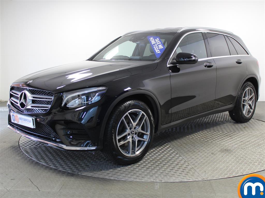 Mercedes-Benz GLC AMG Line - Stock Number 989720 Passenger side front corner
