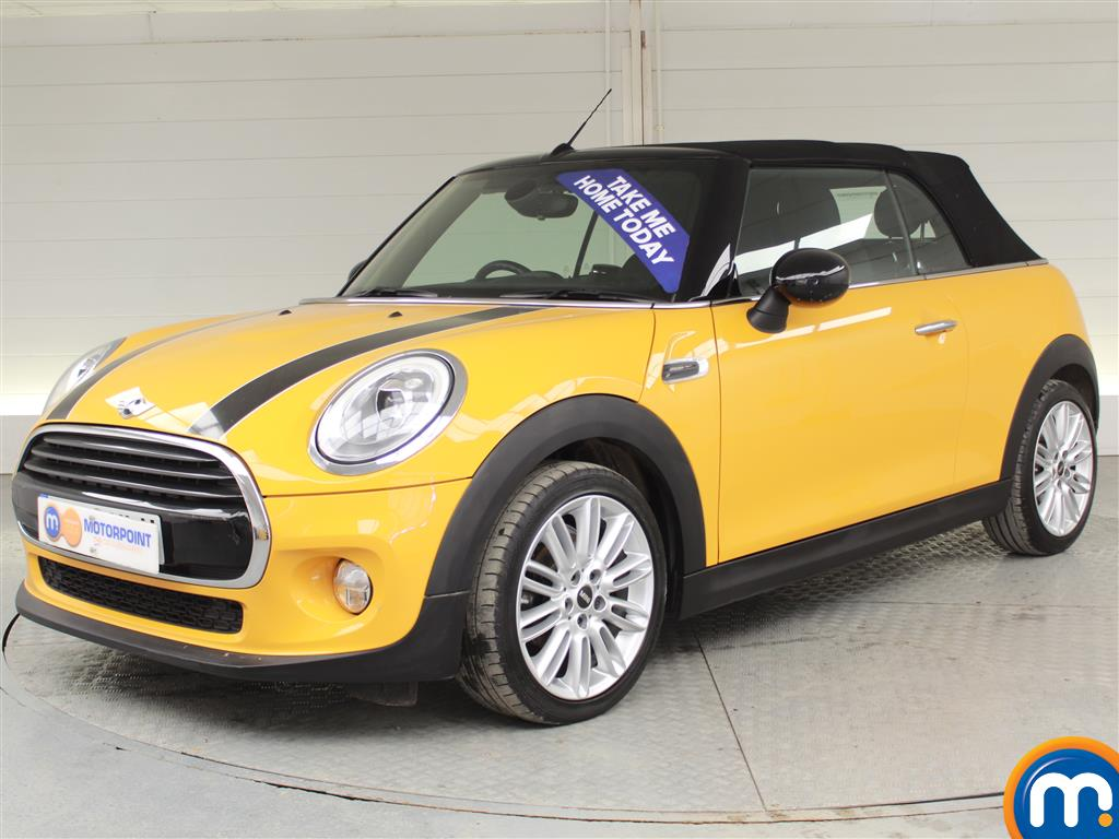 Mini Convertible Cooper - Stock Number (989957) - Passenger side front corner