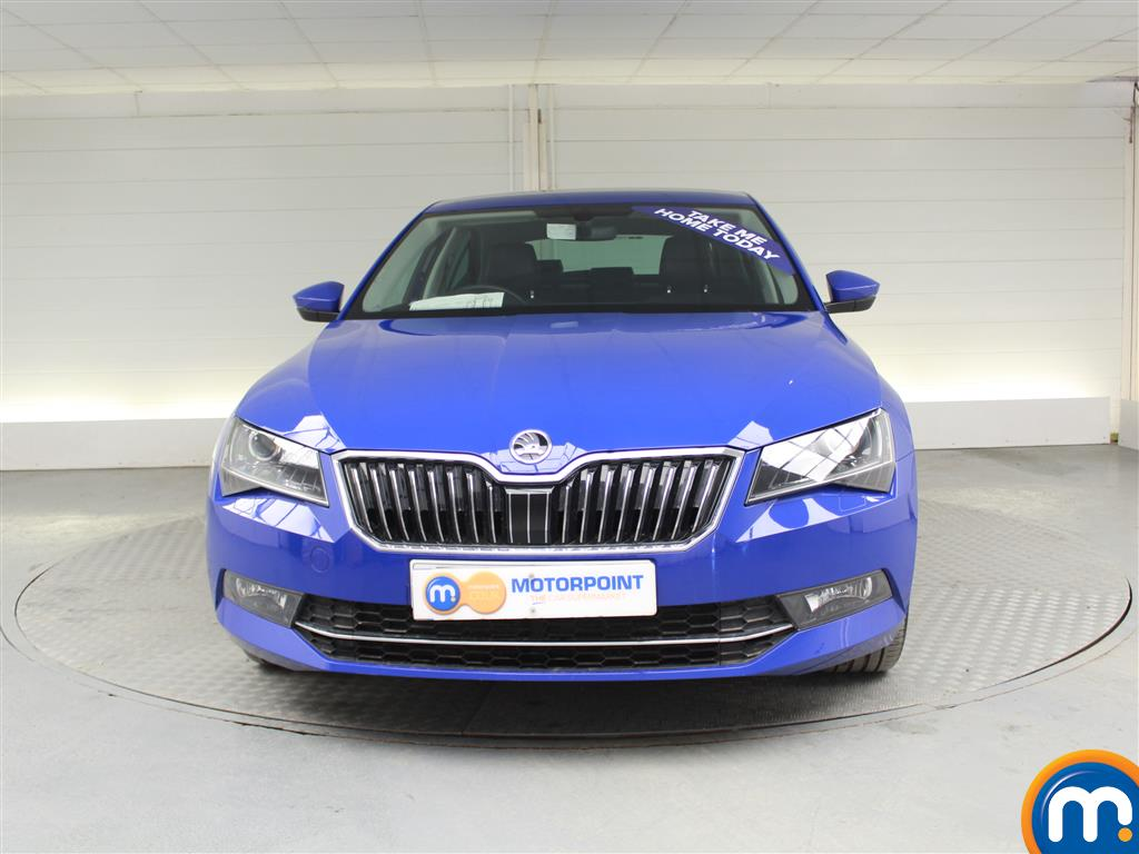 Skoda Superb Se L Executive Manual Diesel Hatchback - Stock Number (989526) - Front bumper