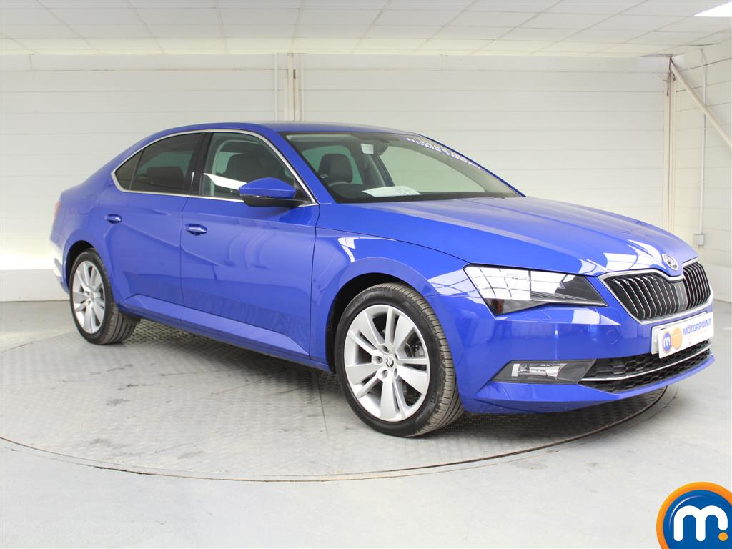 Skoda Superb Se L Executive Manual Diesel Hatchback - Stock Number (989526) - Drivers side front corner