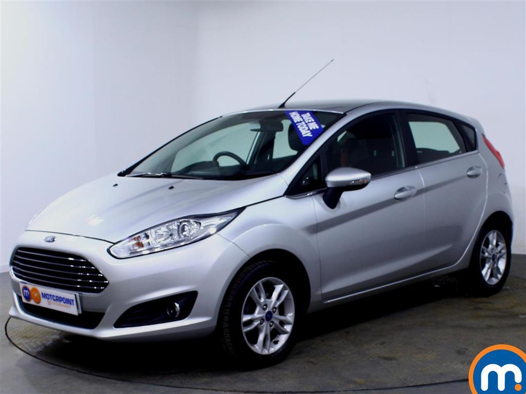 Ford Fiesta Zetec - Stock Number (993036) - Passenger side front corner