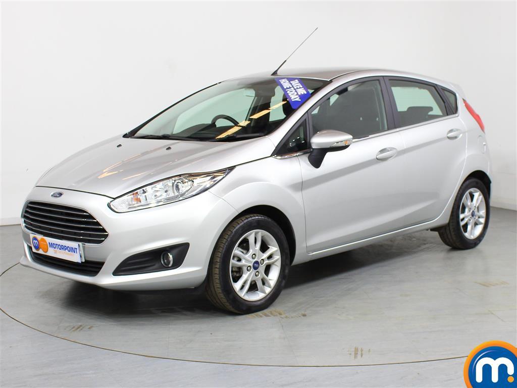 Ford Fiesta Zetec - Stock Number (988702) - Passenger side front corner