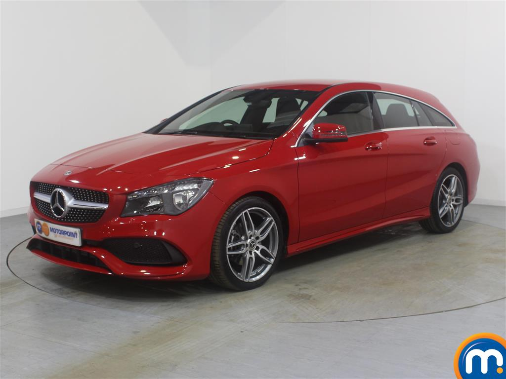 Mercedes-Benz Cla Class AMG Line - Stock Number (994088) - Passenger side front corner
