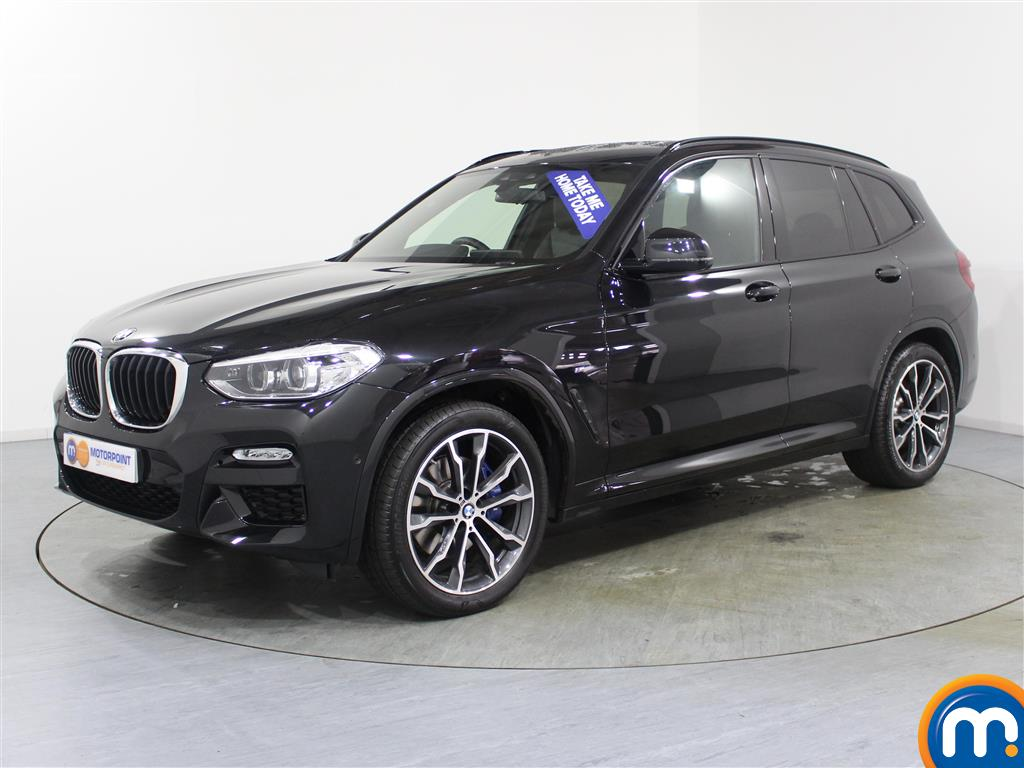 BMW X3 M Sport Automatic Diesel 4X4 - Stock Number (987894) - Passenger side front corner