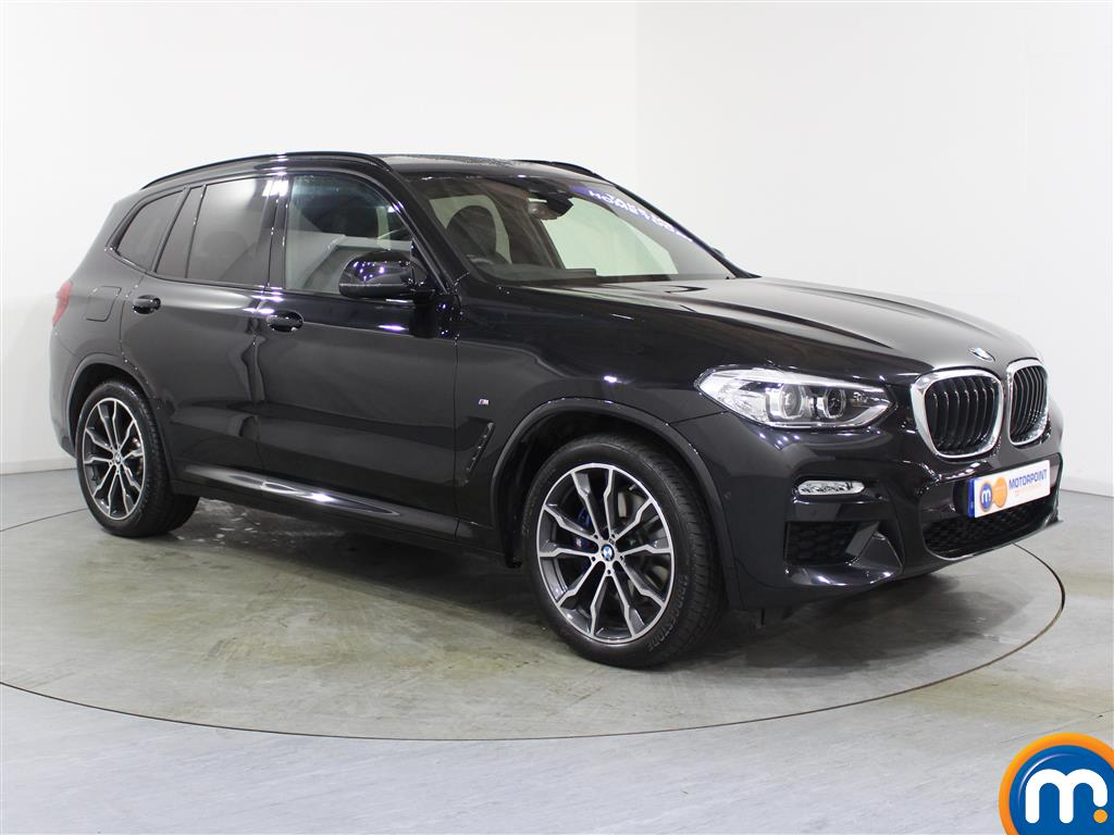 BMW X3 M Sport Automatic Diesel 4X4 - Stock Number (987894) - Drivers side front corner