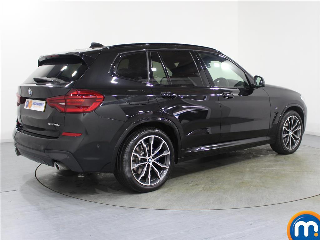 BMW X3 M Sport Automatic Diesel 4X4 - Stock Number (987894) - Drivers side rear corner