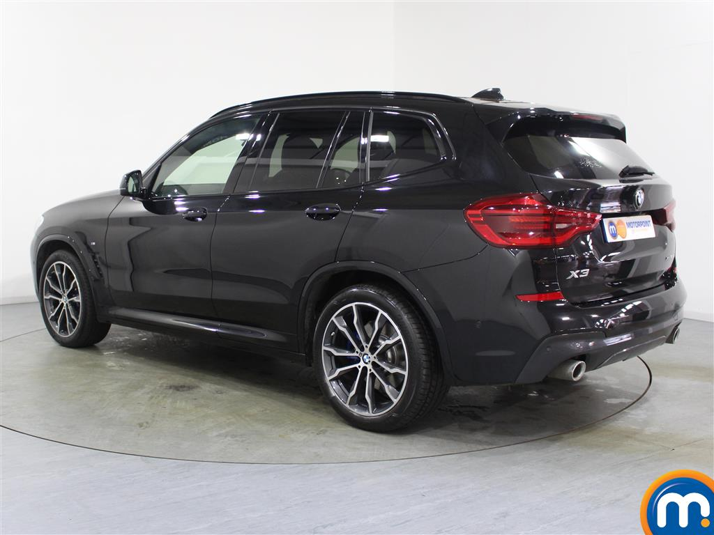 BMW X3 M Sport Automatic Diesel 4X4 - Stock Number (987894) - Passenger side rear corner