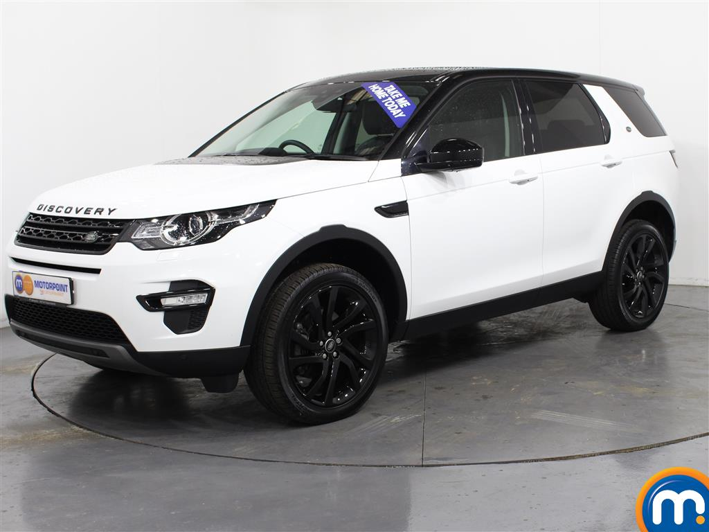 Land Rover Discovery Sport HSE Black - Stock Number (989447) - Passenger side front corner