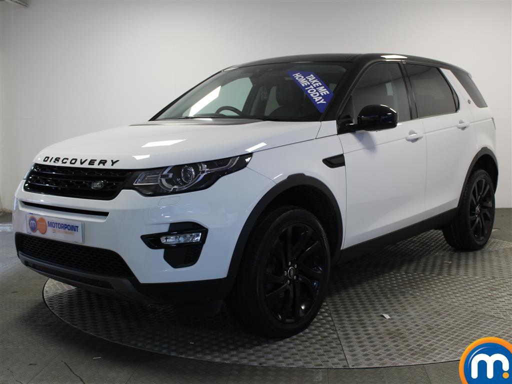 Land Rover Discovery Sport HSE Black - Stock Number (986438) - Passenger side front corner