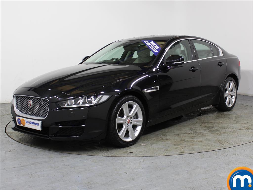 Jaguar XE Portfolio - Stock Number (989410) - Passenger side front corner