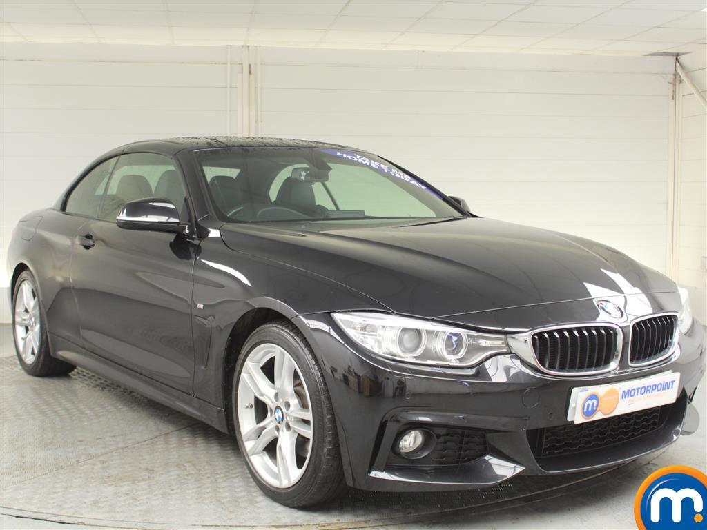 BMW 4 Series M Sport Automatic Diesel Convertible - Stock Number (989565) - Drivers side front corner