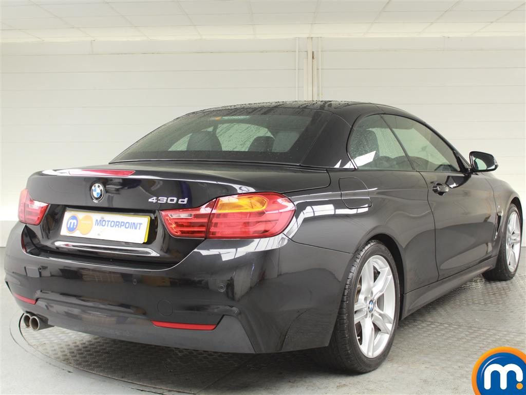 BMW 4 Series M Sport Automatic Diesel Convertible - Stock Number (989565) - Drivers side rear corner