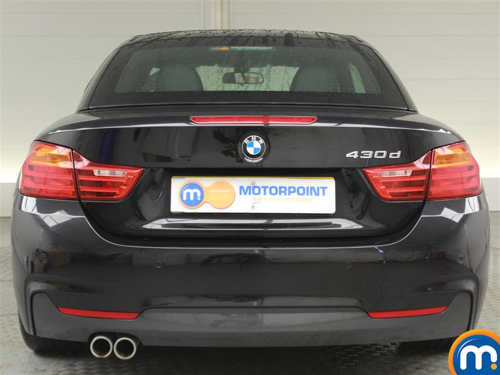 BMW 4 Series M Sport Automatic Diesel Convertible - Stock Number (989565) - Rear bumper