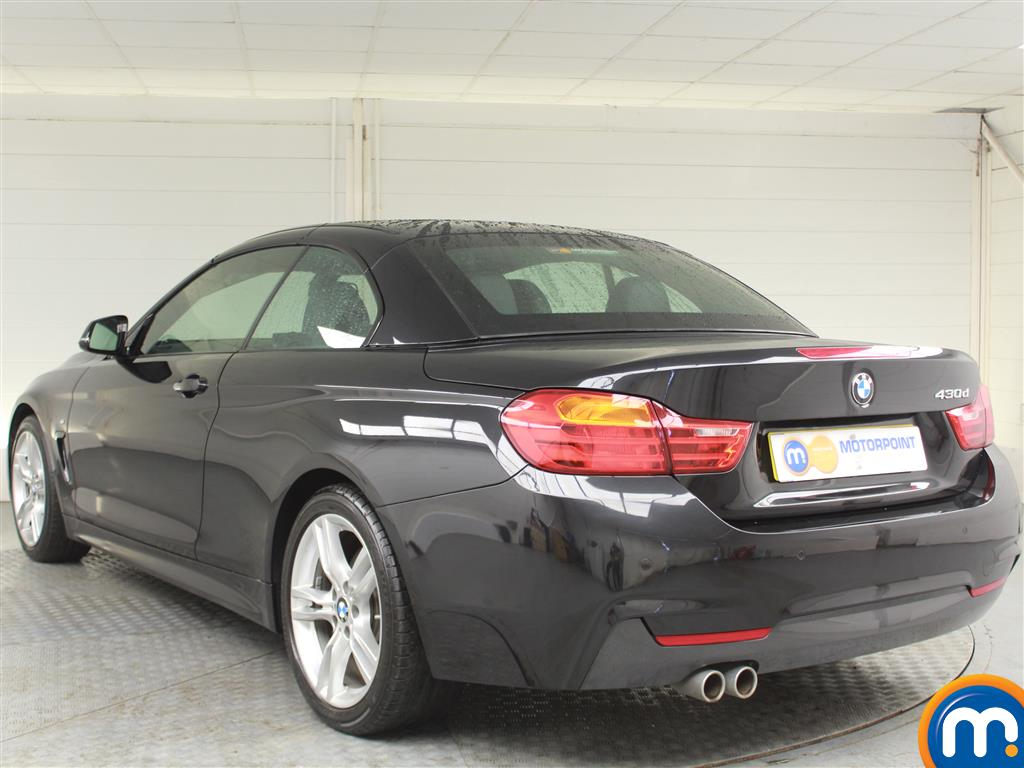 BMW 4 Series M Sport Automatic Diesel Convertible - Stock Number (989565) - Passenger side rear corner