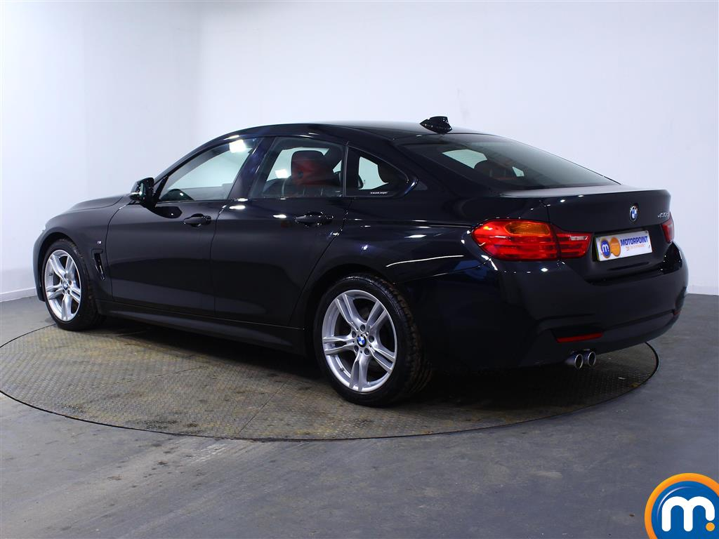 BMW 4 Series M Sport Automatic Diesel Coupe - Stock Number (994567) - Passenger side rear corner