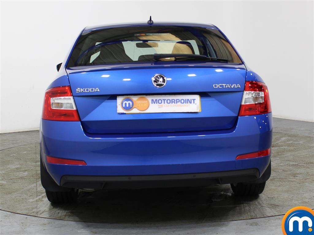 Skoda Octavia Se Sport Manual Petrol Hatchback - Stock Number (988667) - Rear bumper