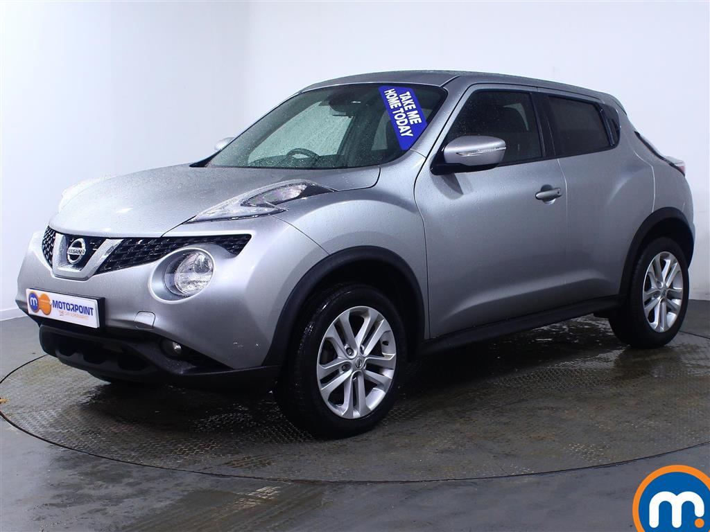 Nissan Juke N-Connecta - Stock Number (991447) - Passenger side front corner