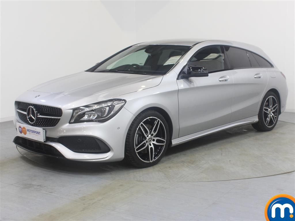 Mercedes-Benz Cla Class AMG Line - Stock Number (985325) - Passenger side front corner