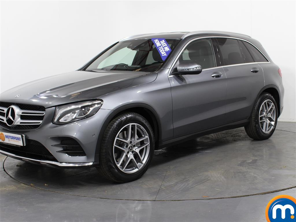 Mercedes-Benz GLC AMG Line - Stock Number (991415) - Passenger side front corner