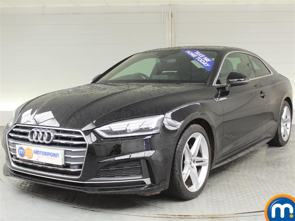 Audi A5 S Line - Stock Number (995004) - Passenger side front corner