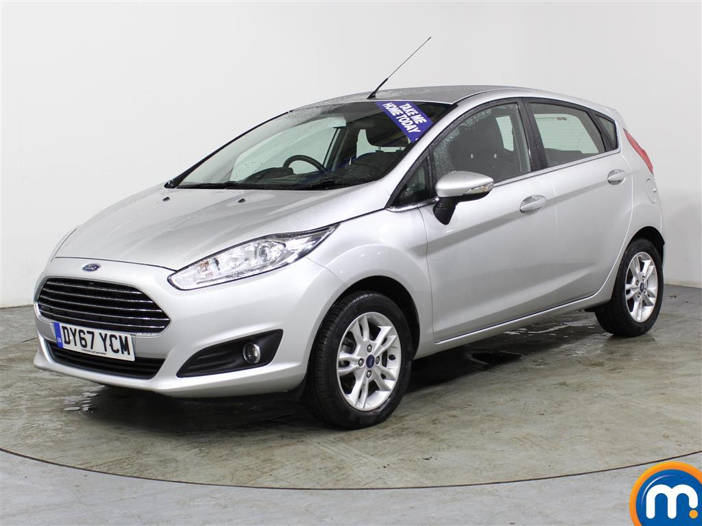 Ford Fiesta Zetec - Stock Number (994466) - Passenger side front corner