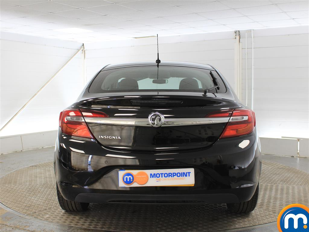 Vauxhall Insignia Design Manual Petrol Hatchback - Stock Number (991683) - Rear bumper