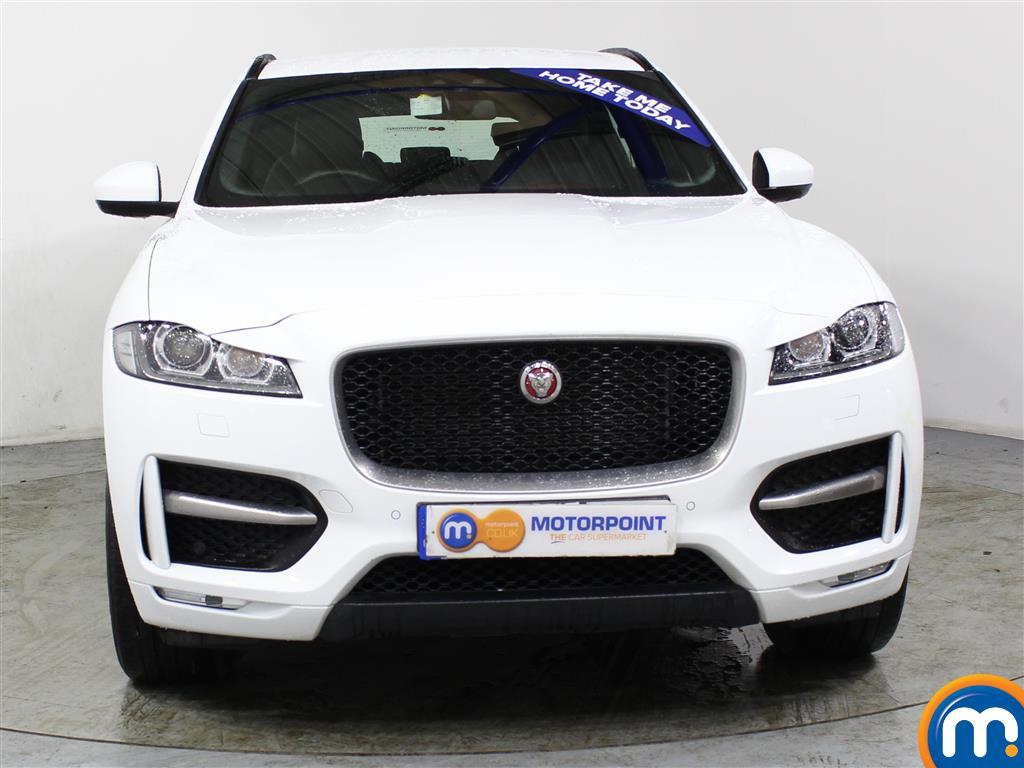 Jaguar F-Pace R-Sport Automatic Diesel Estate - Stock Number (996125) - Front bumper