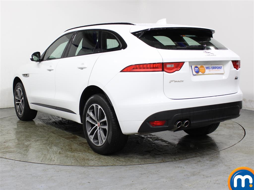 Jaguar F-Pace R-Sport Automatic Diesel Estate - Stock Number (996125) - Passenger side rear corner