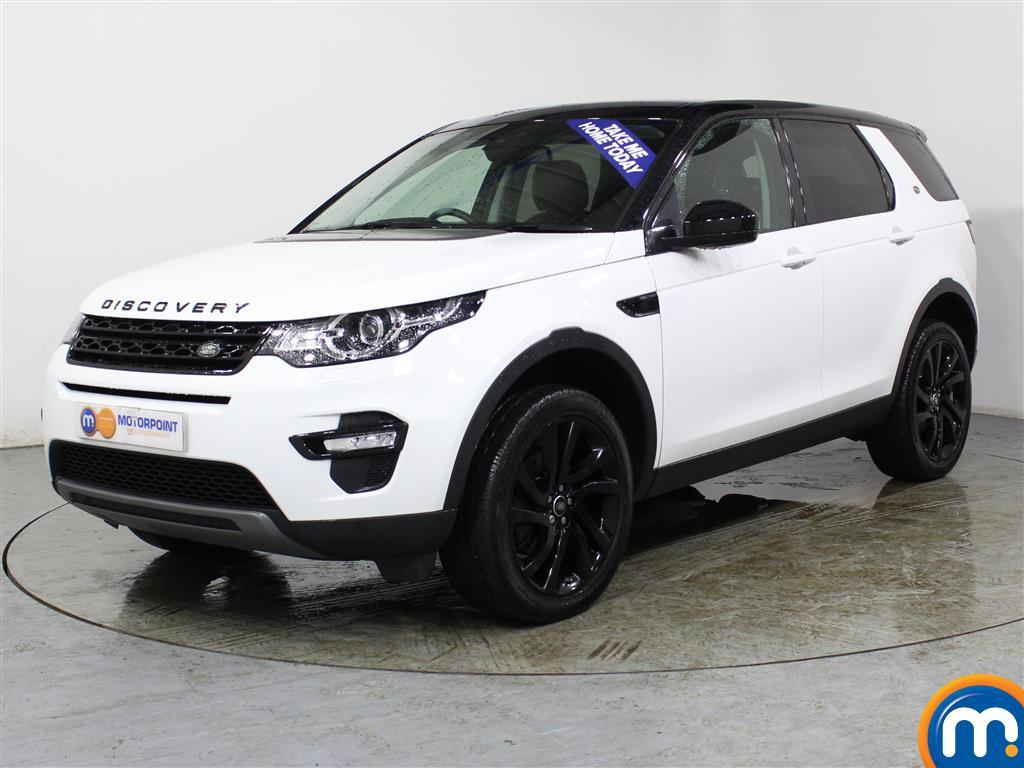 Land Rover Discovery Sport HSE Black - Stock Number (989449) - Passenger side front corner