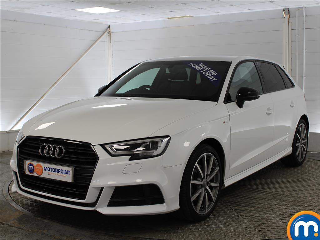 Audi A3 Black Edition - Stock Number (993679) - Passenger side front corner