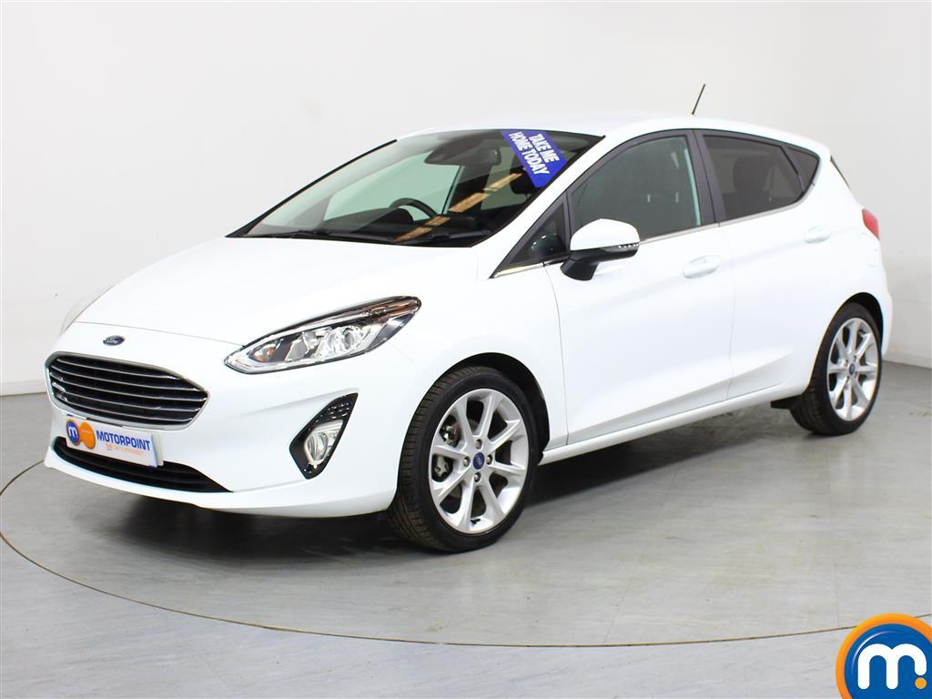 Ford Fiesta Titanium X - Stock Number (989428) - Passenger side front corner