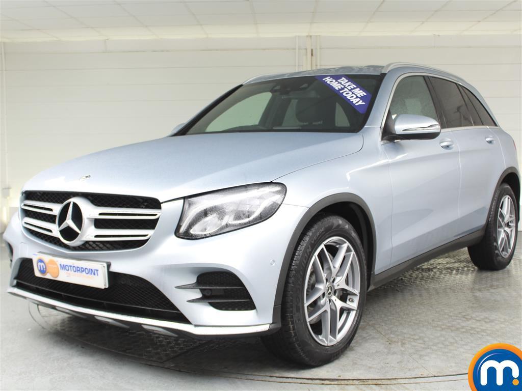 Mercedes-Benz GLC AMG Line - Stock Number (987386) - Passenger side front corner